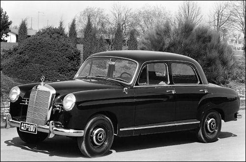 mercedes benz 1960 190b